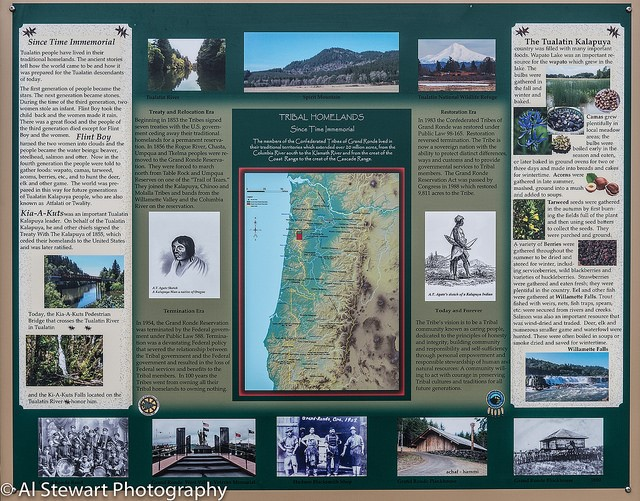 Native Interpretive sign